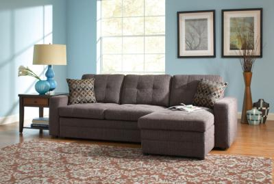 Sectional Sofa Contemporary Style and Tufts