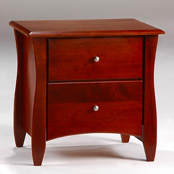 Clove 2-Drawer Nightstand